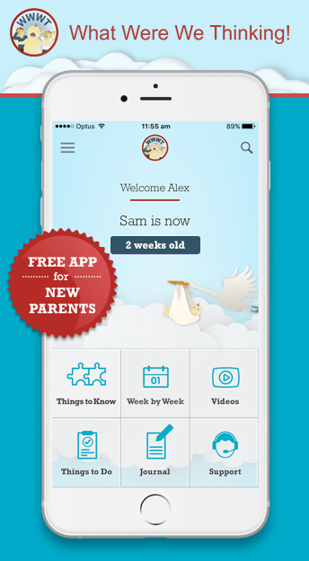 phone app for new parents